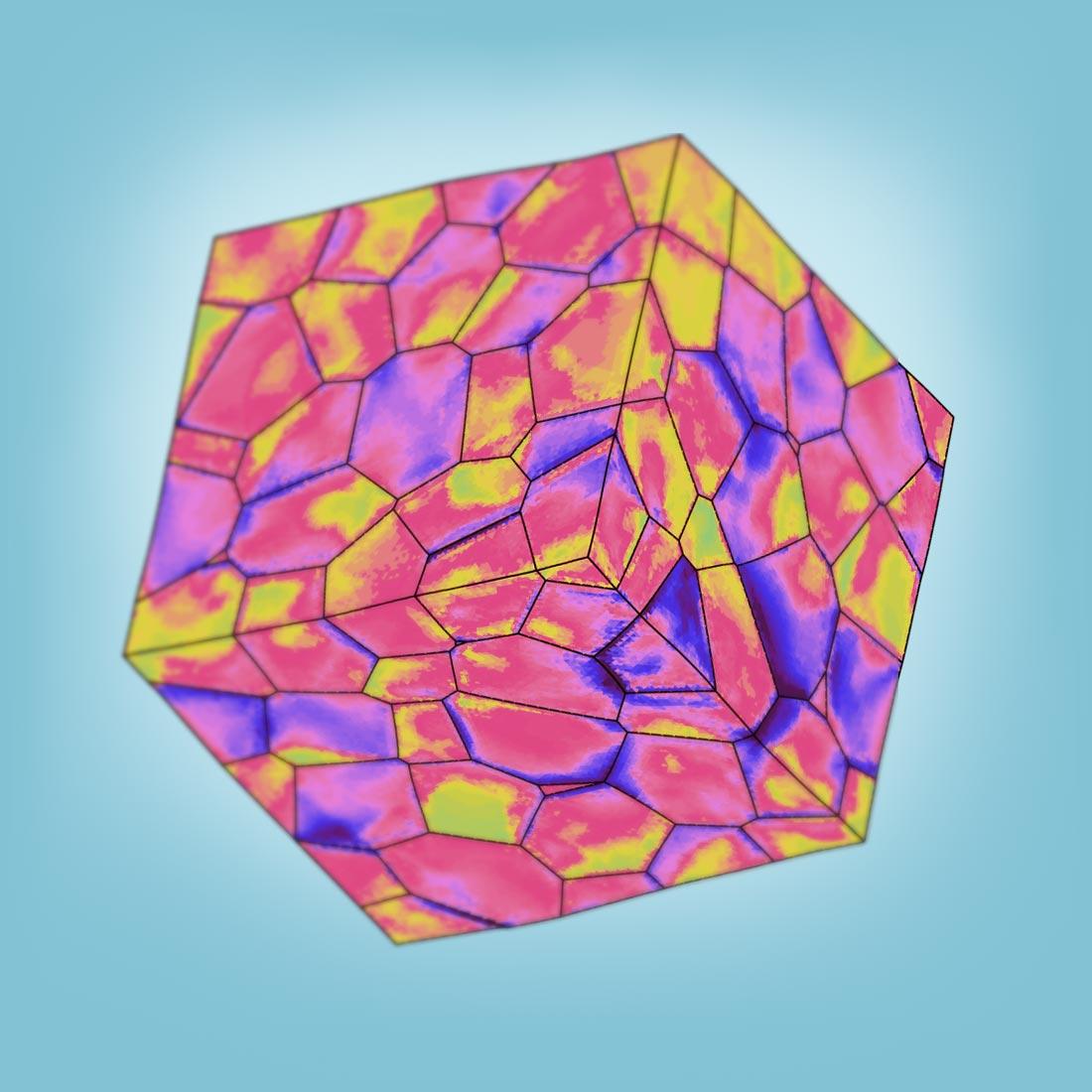 metallic microstructure